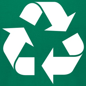 Recycle - Men's T-Shirt by American Apparel