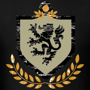 Regal Lion Shield T-Shirts - Men's T-Shirt