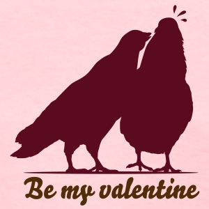 Valentines Dove Couple_1_1c Women's T-Shirts - Women's T-Shirt