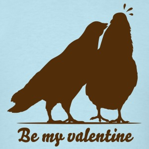 Valentines Dove Couple_1_1c T-Shirts - Men's T-Shirt
