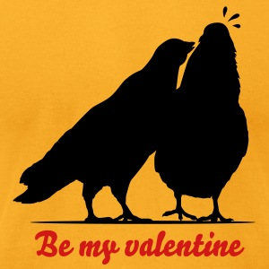 Valentines Dove Couple_1_1c T-Shirts - Men's T-Shirt by American Apparel