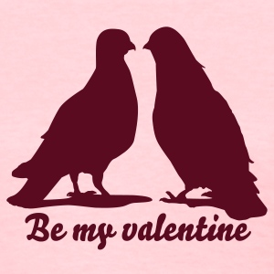 Valentines Dove Couple_2_1c Women's T-Shirts - Women's T-Shirt