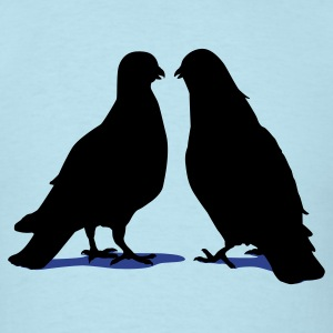 Valentines Dove Couple_2_2c T-Shirts - Men's T-Shirt
