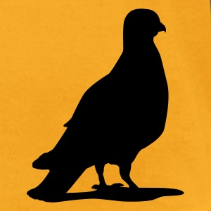 Valentines Dove female_1c T-Shirts - Men's T-Shirt by American Apparel