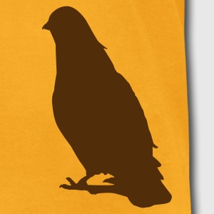 Valentines Dove male 1c T-Shirts - Men's T-Shirt by American Apparel