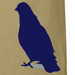 Valentines Dove male 2c T-Shirts - Men's T-Shirt