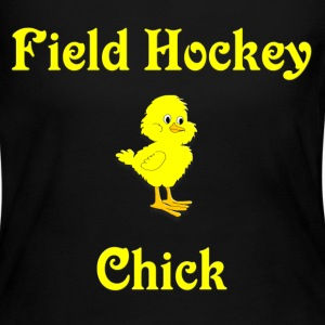 Field Hockey Chick Long Sleeve Shirts - Women's Long Sleeve Jersey T-Shirt