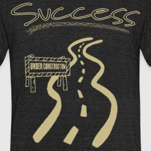 Road to Success - Unisex Tri-Blend T-Shirt by American Apparel