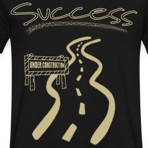 Road to Success - Men's V-Neck T-Shirt by Canvas