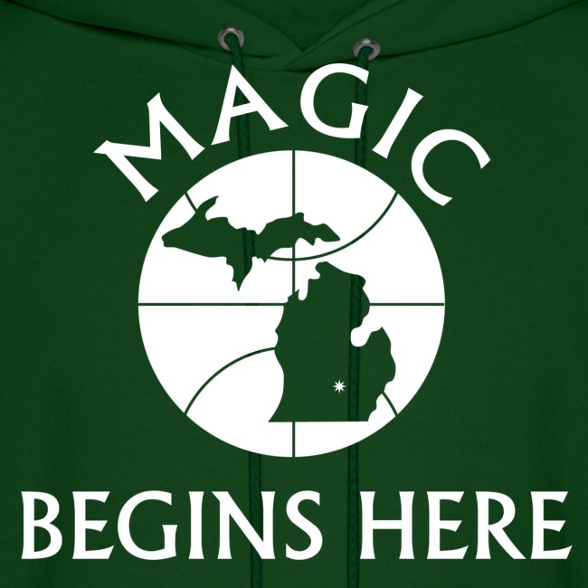 MAGIC BEGINS HERE HOOD