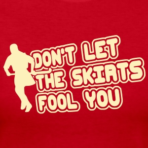 Don't Let The Skirts Fool You (field hockey) Long Sleeve Shirts - Women's Long Sleeve Jersey T-Shirt