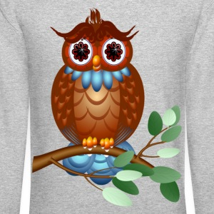 Big Brown Owl - Crewneck Sweatshirt