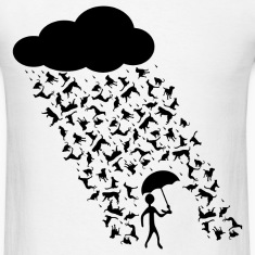 Raining Cats And Dogs Tee