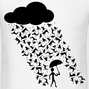 Raining Cats And Dogs Tee - Men's T-Shirt