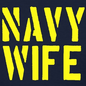 Navy Wife - Women's T-Shirt