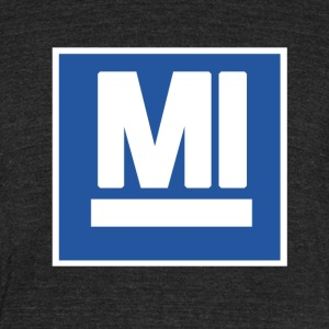 MI T-Shirts - Unisex Tri-Blend T-Shirt by American Apparel