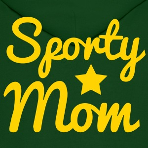 sporty sports mom Hoodies - Men's Hoodie