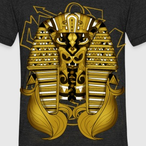 Corrupted Beast King - Unisex Tri-Blend T-Shirt by American Apparel