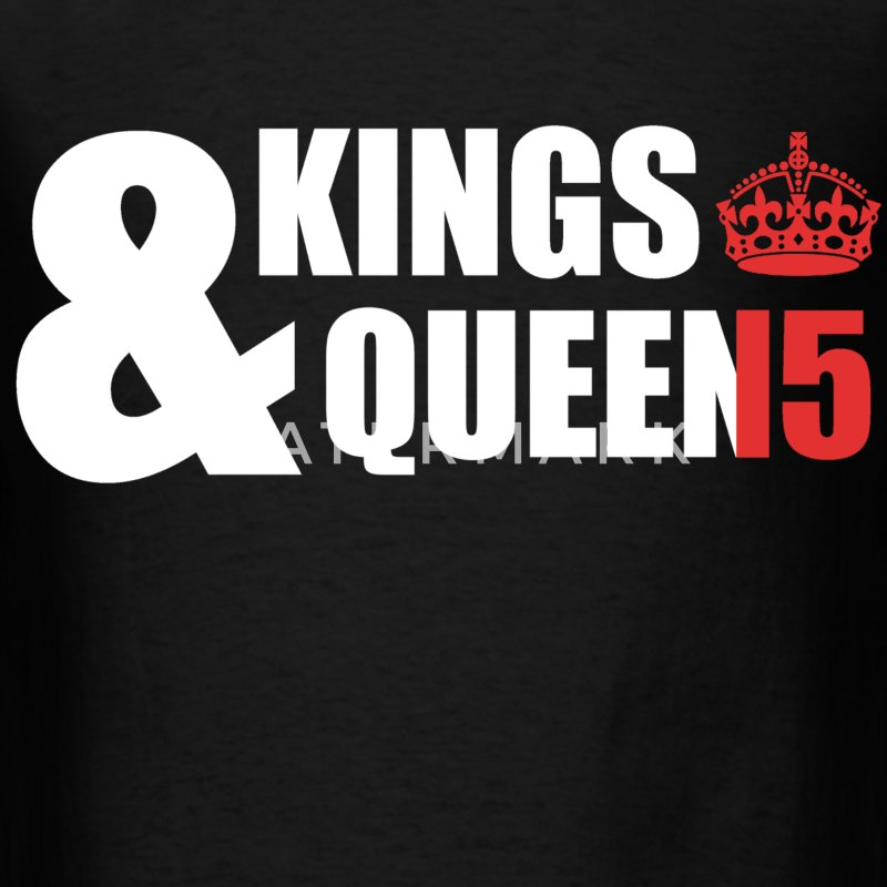 Class of 15 - Kings & Queens (red without bands) T-Shirts - Men's T-Shirt
