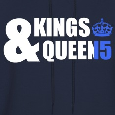 Class of 15 - Kings & Queens (blue without bands) Hoodies