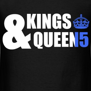 Class of 15 - Kings & Queens (blue without bands) T-Shirts - Men's T-Shirt