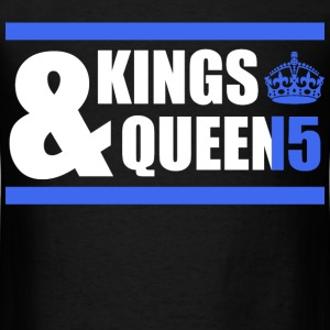 Class of 15 - Kings & Queens (blue with bands) T-Shirts - Men's T-Shirt