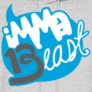 Class of 13 - imma Beast (Light Blue) Hoodies - Men's Hoodie
