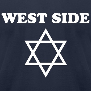 West Side Jew - Men's T-Shirt by American Apparel