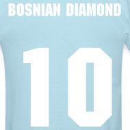 Design ~ Edin Dzeko - 10 - The Bosnian Diamond