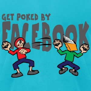 FaceBook T-Shirts - Men's T-Shirt by American Apparel