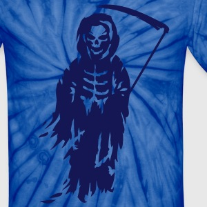 A Grim Reaper - Death with a scythe T-Shirts - Unisex Tie Dye T-Shirt