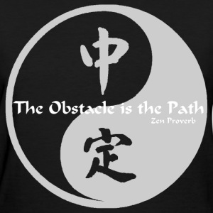 Yin Yang – The Obstacle  - Women's T-Shirt