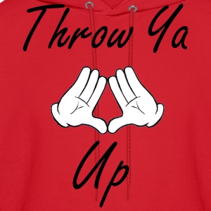 Throw Your Diamond Up - Men's Hoodie