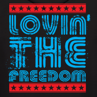 Design ~ Lovin' the Freedom Mens Hoodie