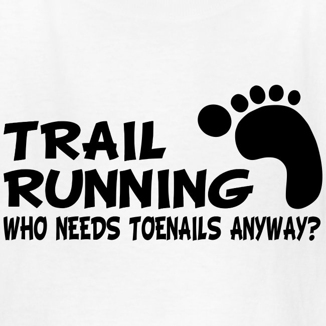 Trail Running Toenails Children's T-Shirt