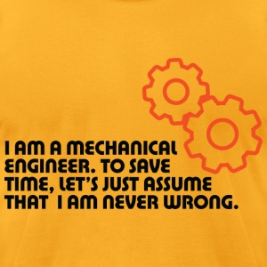I Am A Mechanical Engineer 5 (dd)++ T-Shirts - Men's T-Shirt by American Apparel
