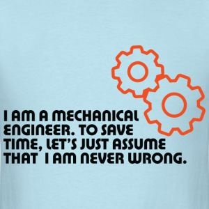 I Am A Mechanical Engineer 5 (dd)++ T-shirts (manches courtes) - T-shirt pour hommes