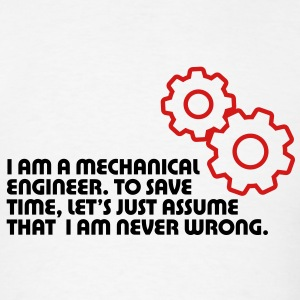 I Am A Mechanical Engineer 5 (2c)++ T-shirts (manches courtes) - T-shirt pour hommes