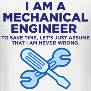 I Am A Mechanical Engineer 3 (dd)++ T-shirts (manches courtes) - T-shirt pour hommes