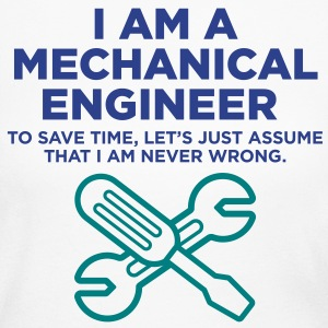 I Am A Mechanical Engineer 3 (2c)++ Long Sleeve Shirts - Women's Long Sleeve Jersey T-Shirt