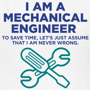 I Am A Mechanical Engineer 3 (2c)++ T-shirts Enfants - T-shirt classique pour enfants