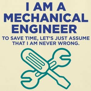 I Am A Mechanical Engineer 3 (2c)++ Bags  - Eco-Friendly Cotton Tote
