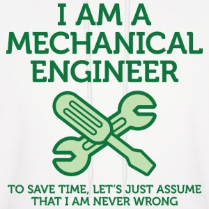 I Am A Mechanical Engineer 2 (dd)++ Hoodies - Men's Hoodie