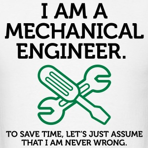 I Am A Mechanical Engineer 2 (2c)++ T-shirts (manches courtes) - T-shirt pour hommes