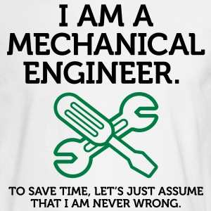 I Am A Mechanical Engineer 2 (2c)++ Long Sleeve Shirts - Men's Long Sleeve T-Shirt