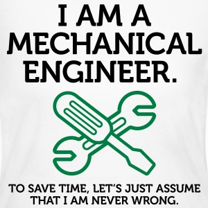 I Am A Mechanical Engineer 2 (2c)++ Long Sleeve Shirts - Women's Long Sleeve Jersey T-Shirt