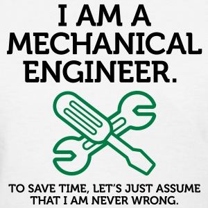 I Am A Mechanical Engineer 2 (2c)++ T-shirts (manches courtes) - T-shirt pour femmes