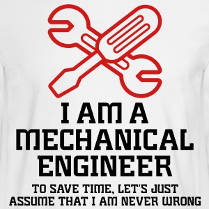 I Am A Mechanical Engineer 1 (2c)++ Long Sleeve Shirts - Men's Long Sleeve T-Shirt