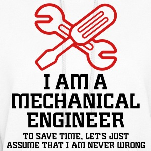 I Am A Mechanical Engineer 1 (2c)++ Hoodies - Women's Hoodie