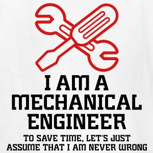 I Am A Mechanical Engineer 1 (2c)++ Kids' Shirts - Kids' T-Shirt